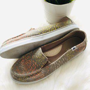 SPERRY Zuma Prints Slip On Shoes Women's 8 EUC